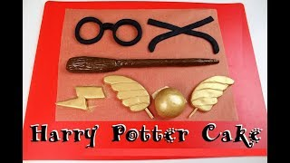 Easy Harry Potter Inspired Cake | CHELSWEETS