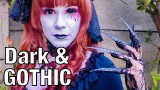 9 Dark & GOTHIC Street FASHIONS 2014/12 | Kawaii Harajuku Tokyo Japanese | 原宿ファッションスナップ2014/12 Thumbnail