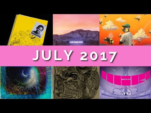 July 2017 / Album Review Roundup