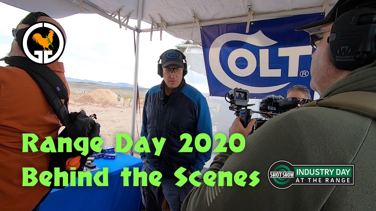 Range Day 2020 Behind The Scenes - Colt