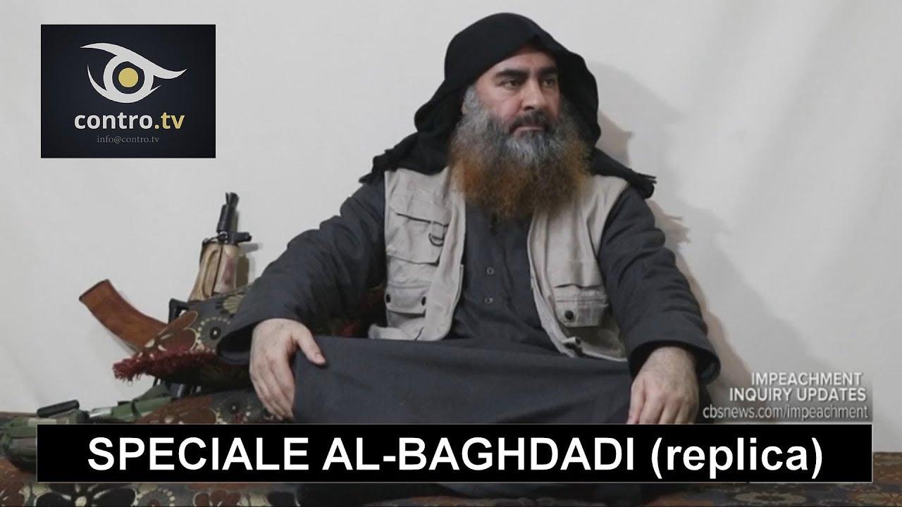 Contro TV: Speciale Al-Baghdadi (puntata integrale 1 nov. 2019)