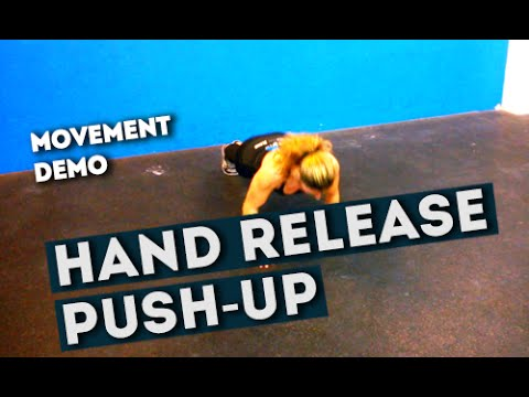 Movement Demo // Hand Release Push-Up