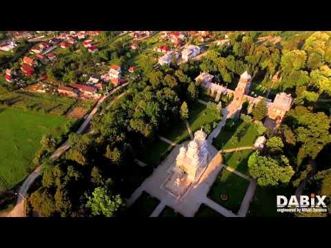 Sfânta Mânăstire Curtea de Argeş - imagini aeriene