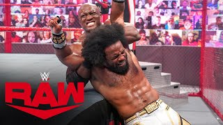 Xavier Woods vs. Bobby Lashley – Hell in a Cell Match: Raw, June 21, 2021