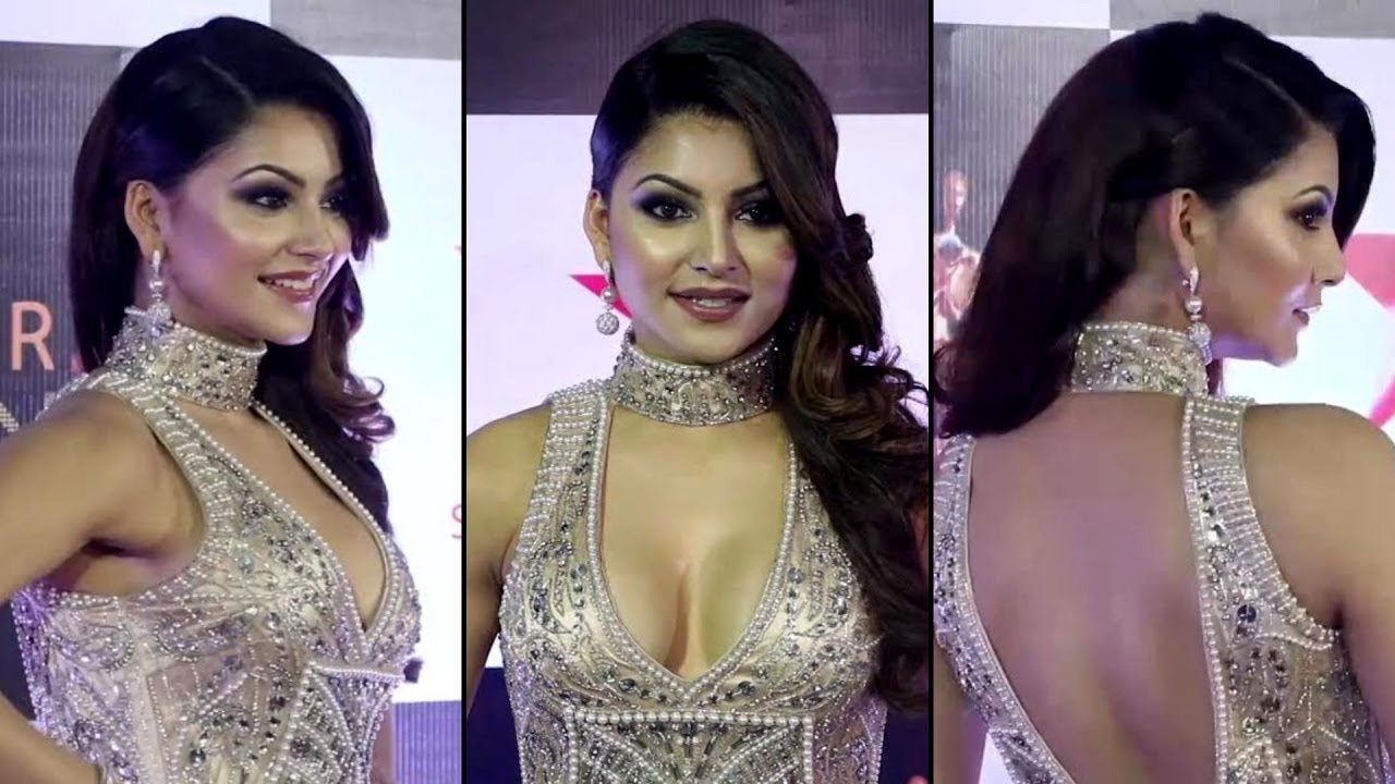 Urvashi Rautela in Silver Gown At Star Screen Awards 2016