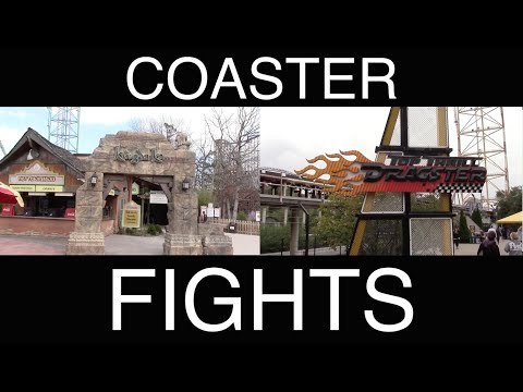 Kingda Ka vs. Top Thrill Dragster - COASTER FIGHTS!