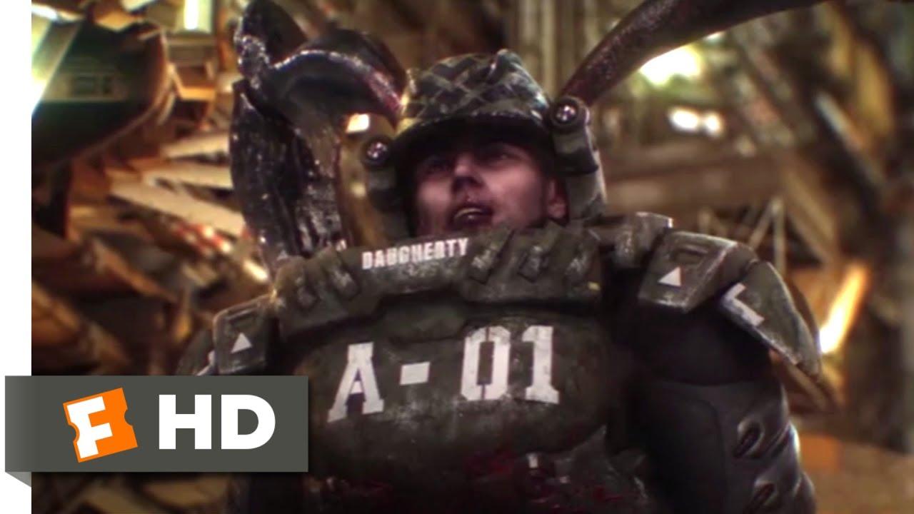 Download Starship Troopers: Invasion (2012) - Surrender or Die Scene (9/10)   Movieclips