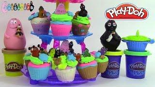 Pâte à modeler play doh Tour à cupcakes Barbapapa ♥Play Doh Cupcake tower