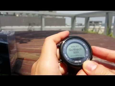 GoWatch 820i 藍牙三鐵運動錶操作教學第一次使用定位