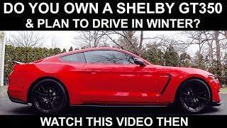 SHELBY GT350 Winter Review & What You Need to Know | Auto Fanatic