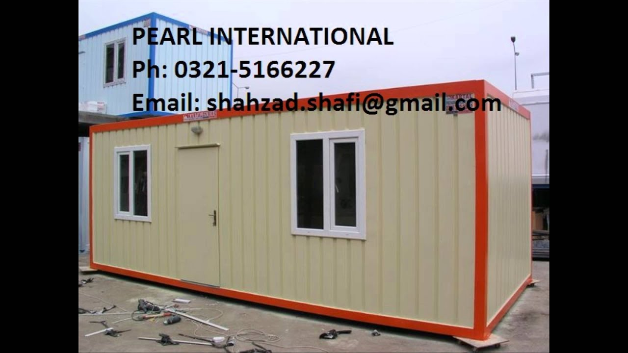 Porta Cabin Manufacturer In Pakistan Office Container Prefabricated Portable Office Porta Camps