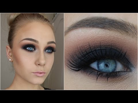 For Beginners ♡ Black Smokey Eye In 12 Simple Steps!