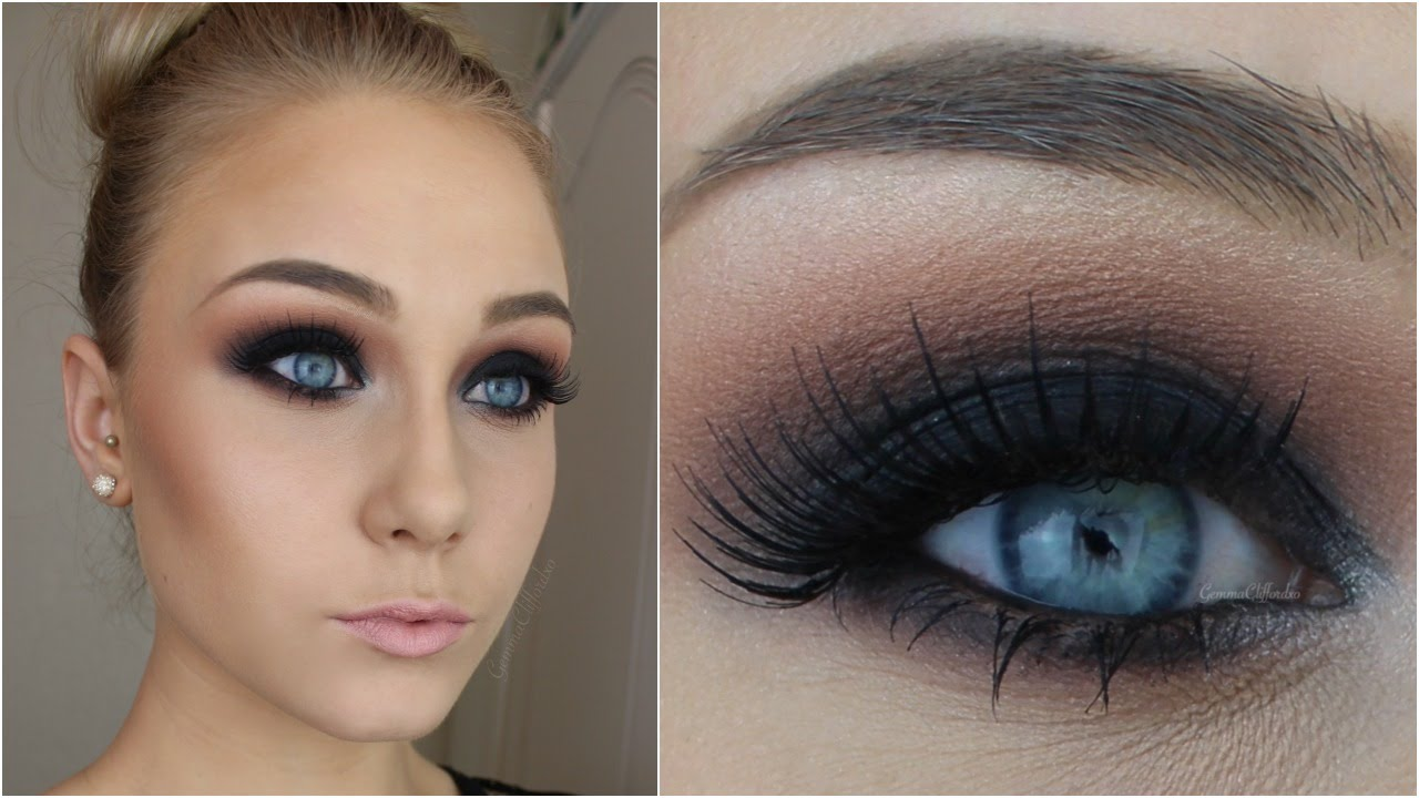 For Beginners Black Smokey Eye In 12 Simple Steps Youtube