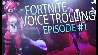 Nerd Plays Fortnite (Voice Troll)