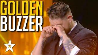 Magician Gets GOLDEN BUZZER on Spain's Got Talent 2021   Got Talent Global