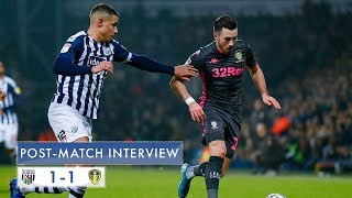 Post-match interview | Jack Harrison | West Bromwich Albion 1-1 Leeds United