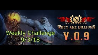 They Are Billions!   Weekly Challenge 9/3/18