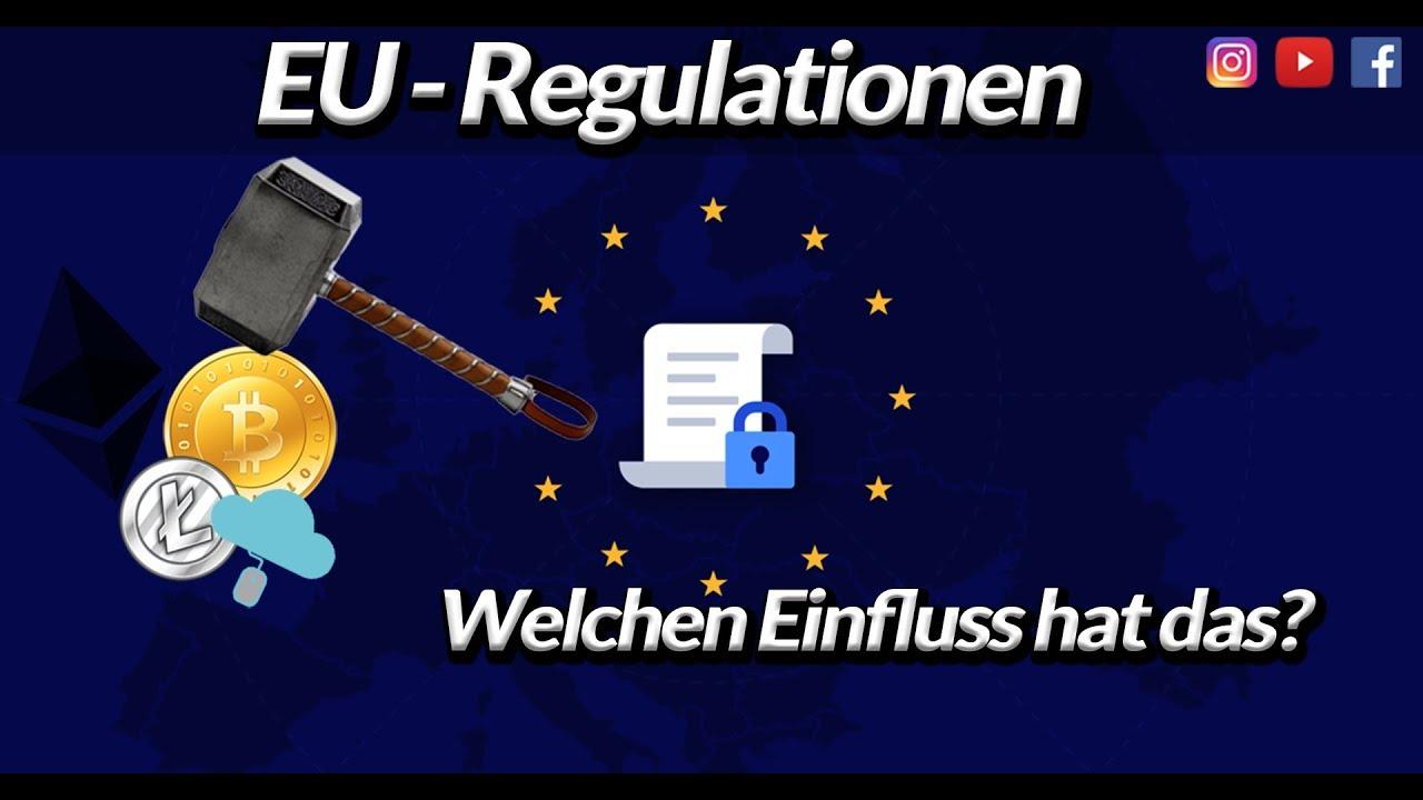 ►Der zentrale Plan der EU mit Kryptos‼