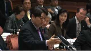 H24/03/16 参院予算委員会・林芳正【集中審議「社会保障と税等」】