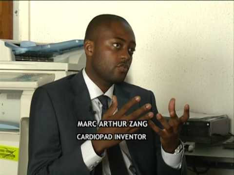 CAMEROONIAN CARDIOPAD INVENTOR TALKS TO GLOBEWATCH