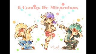 """""""6 Cómics De Miraculous"""""""