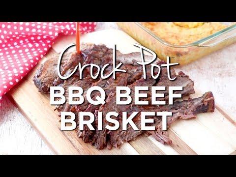 How To Make: Crockpot BBQ Beef Brisket