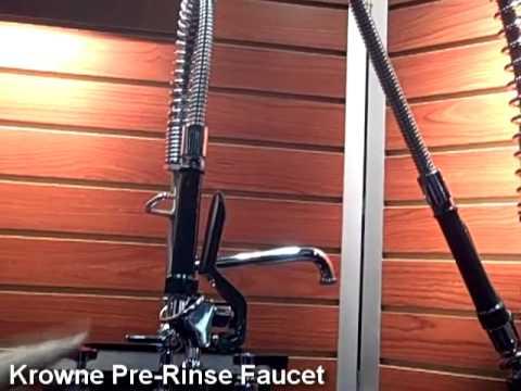 Krowne Pre-Rinse Faucet - YouTube