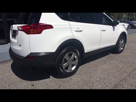 2015 Toyota RAV4 Jacksonville, St Augustine, Ponte Vedra ,Palm Valley, Fernandina Beach, FL PJ1013A