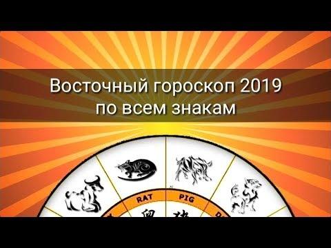 ВОСТОЧНЫЙ ГОРОСКОП 2019 ДЛЯ ВСЕХ ЗНАКОВ