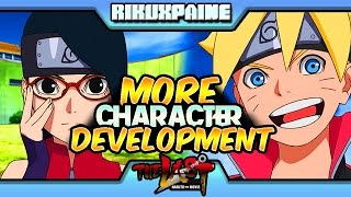 Naruto Gaiden: ▶Boruto Vs Sarada ◀ Character Development | Chapter 4