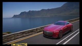 Lusso elettrico nella Vision Mercedes-Maybach 6 - Electric Motor News n° 27 (2016)