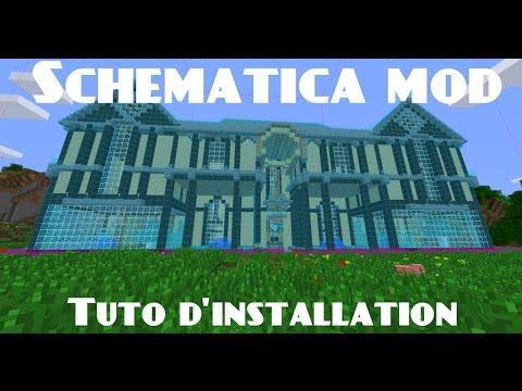 Minecraft Schematica Mod Installation Utilisation Fr
