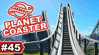 Wodan Europapark inspirierte Bahn | Planet Coaster Let's Play #45