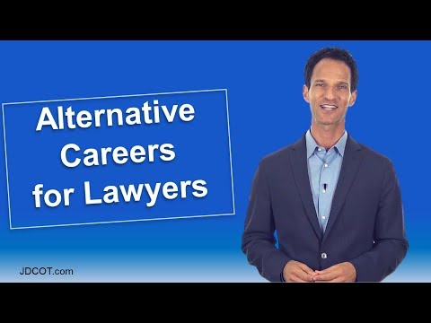 Popular Alternative Careers for Lawyers