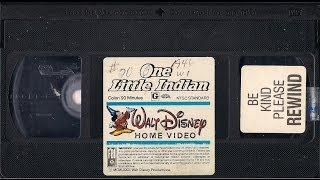 Opening to One Little Indian 1986 VHS
