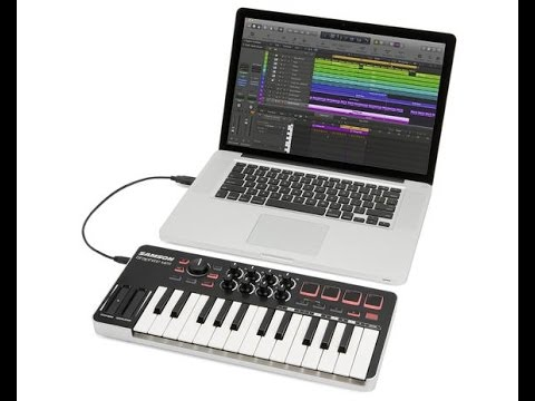 Graphite M25 setup with Ableton Live