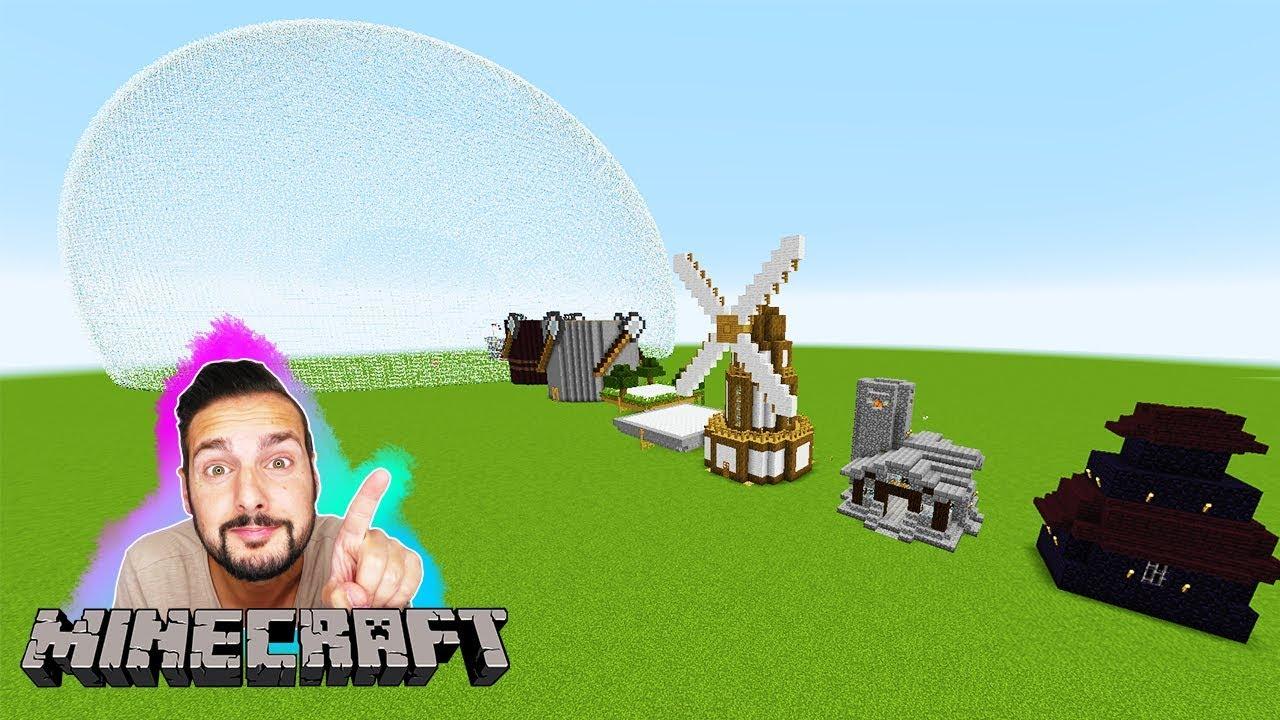 KAAN REAGIERT AUF INSTANT HOUSES MOD The Wars Mod Mit Klick Ein - Minecraft hauser mit einem klick mod