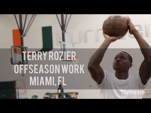 Terry Rozier Summer Workouts at University of Miami