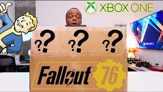 XBOX Sent Me a FALLOUT 76 MYSTERY BOX!