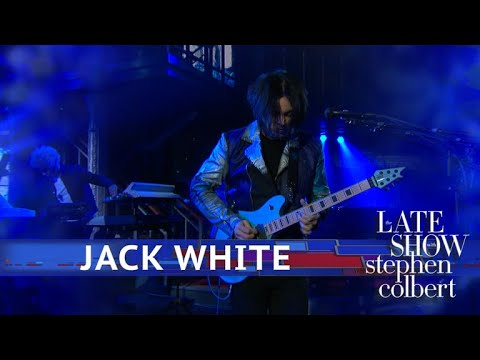 Jack White Performs 'Ice Station Zebra'