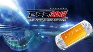 PES 2012 PSP gameplay HD