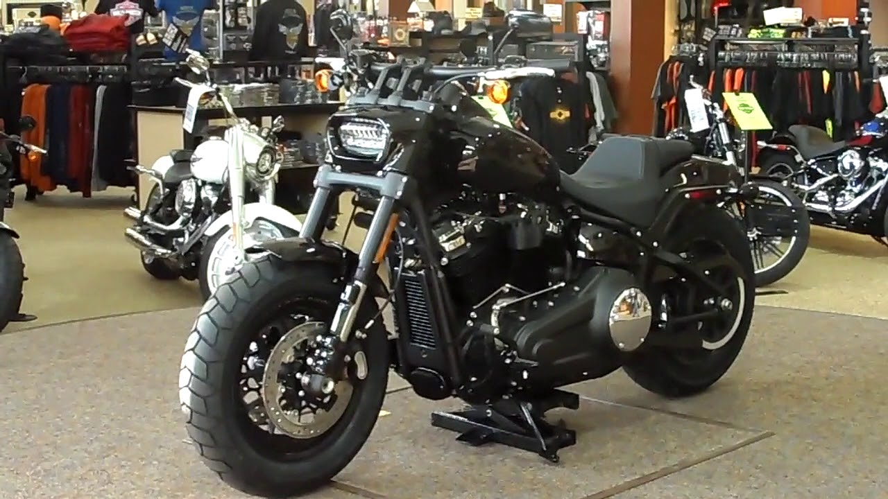 2018 Harley-Davidson® Fat Bob - YouTube