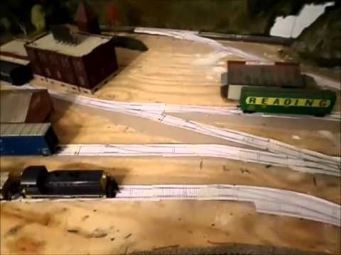 photo relating to Printable Train Track Templates identify Released HO prepare monitor templates