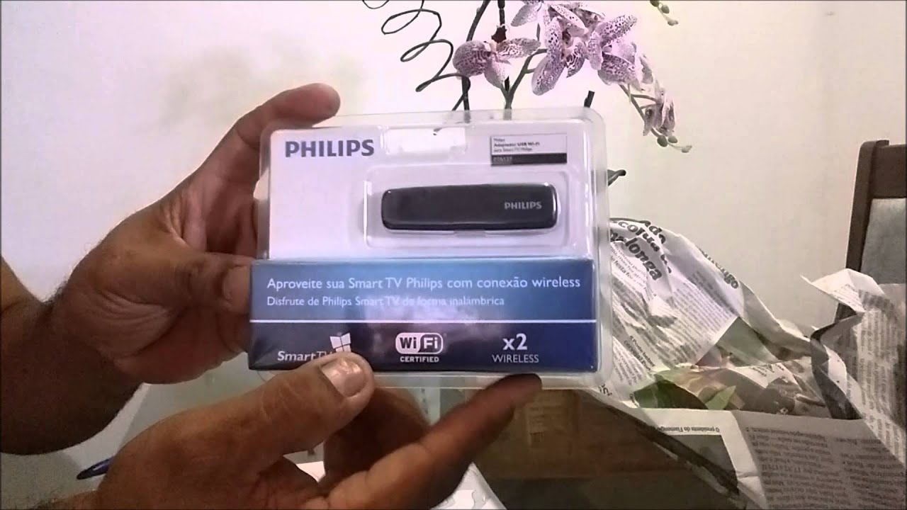 328f40f781b25 Smart tv Philips com configura adaptador wifi completo - YouTube