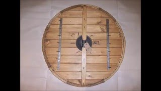 How We Make Our Living History Viking Shields