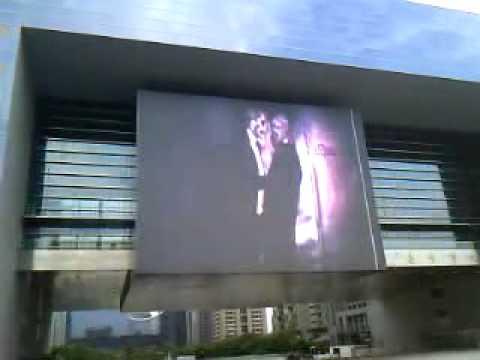 Gaga's MV was played in Taichung, Taiwan