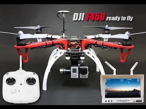 DJI F450 KIT NAZA-M Lite GPS - YouTube