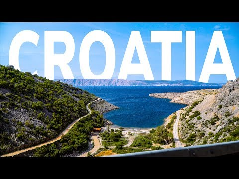 CROATIA on the road | 4K
