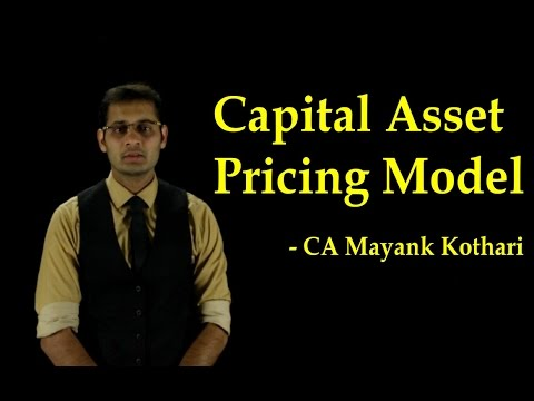 CA Final SFM-Capital Asset Pricing Model by CA Mayank Kothari