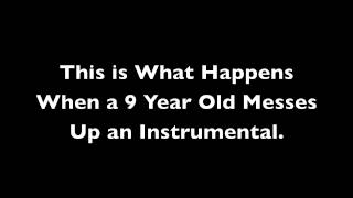"9 Year Old Creates a Mixed ""Boyfriend"" Instrumental"